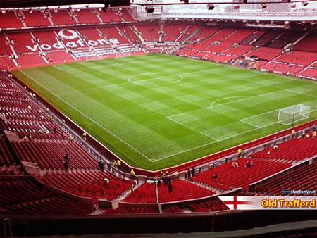 Манчестер Юнайтед - стадион Олд Траффорд